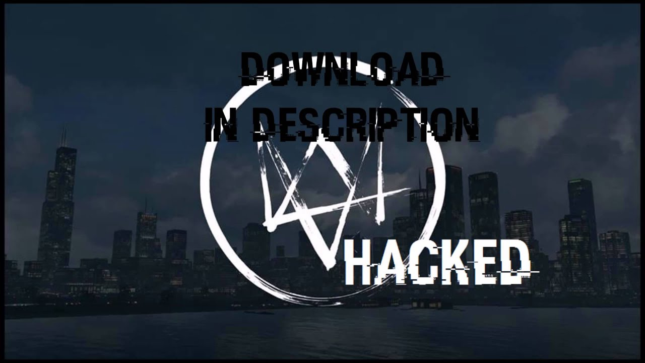Watch Dogs Hacked font download free - YouTube