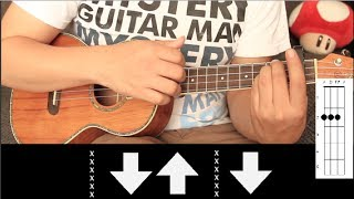 Calle 13 - Muerte en Hawaii UKULELE Tutorial (HD)
