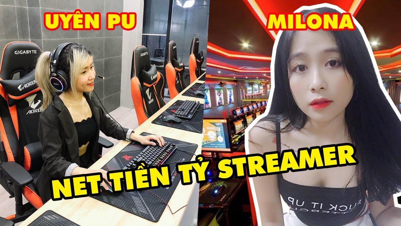 TOP 7 Streamer Việt Nam tự xây Cyber Game siêu khủng tiền Tỷ của riêng mình: Uyên Pu, Milano, QTV…