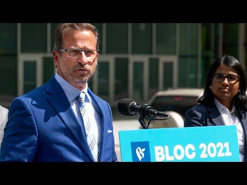 Bloc Leader Blanchet calls election 'very irresponsible'