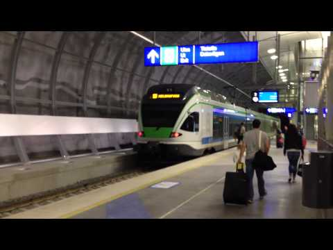 New Helsinki-Vantaa Airport train connection