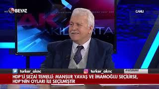 HDP'li Sezai Temelli: Mansur Yavaş ve İmamoğlu seçilirse, HDP'nin oyları ile seçilmiştir