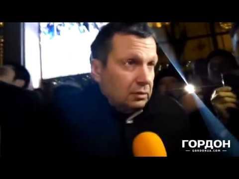 В Минске протестовали против выступления Соловьева. 25.11.2016