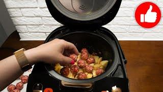 Готовлю эти овощи с мясом так что все просят рецепт Вкусная картошка с фрикадельками в мультиварке