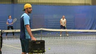 Видео групповой тренировки в школе тенниса tennisteam ru