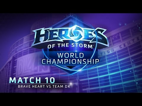 Brave Heart vs. Team DK - Match 10 - Heroes of the Storm World Championship 2015