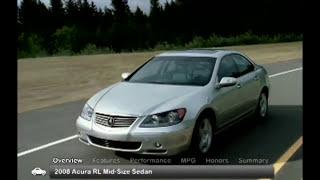 2008 Acura RL Used Car Report