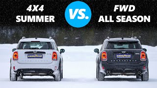 4WD vs All Weather / All Season Tires - Is AWD better than the correct tyres?