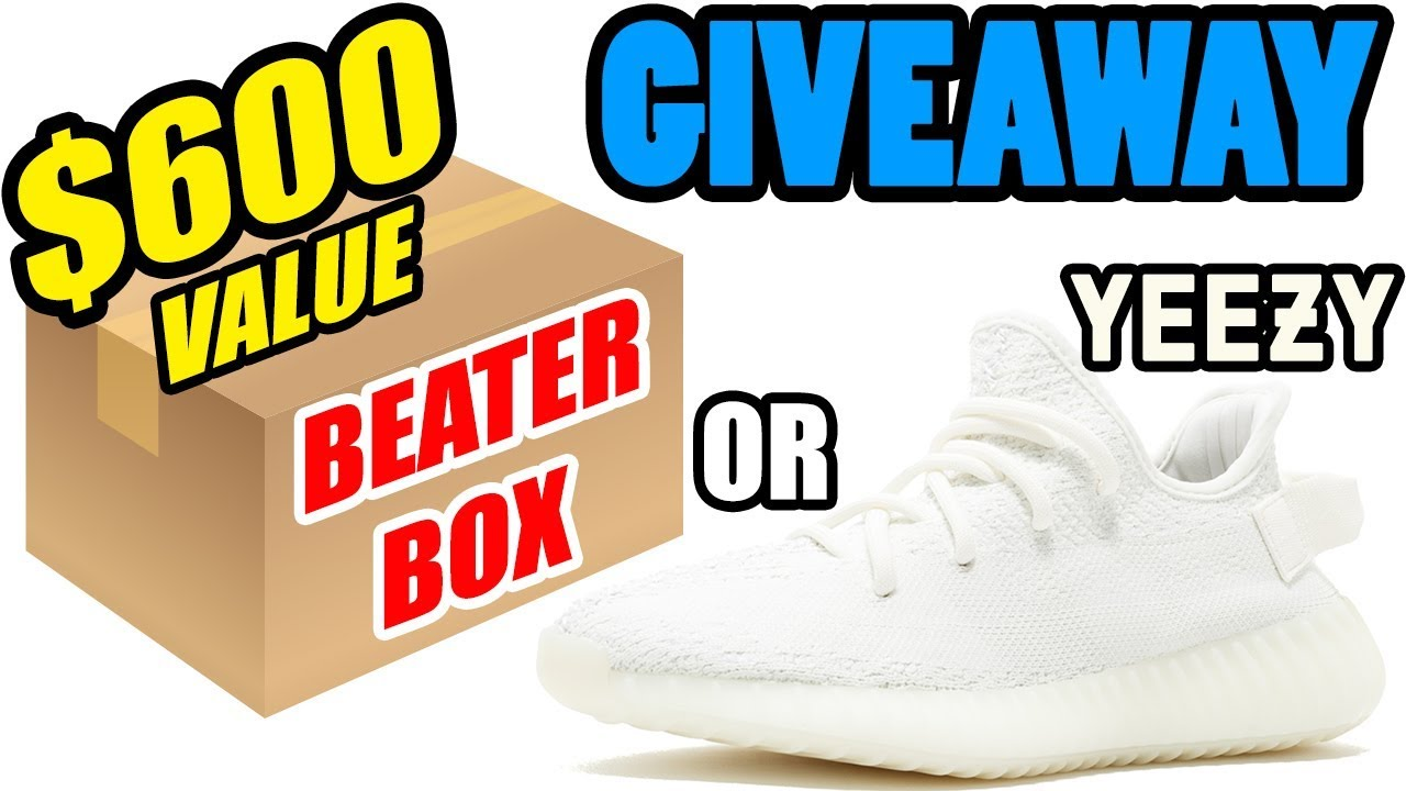 325119b61 GIVEAWAY   600 WORTH OF SNEAKERS OR FREE YEEZYS - YouTube
