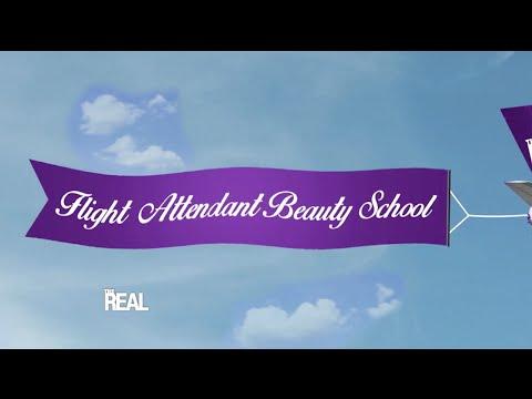Flight Attendant Beauty School