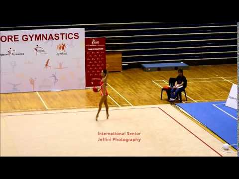 "Jeffini Photography - 11th Singapore Rhythmic Gymnastics Open 2014 International Senior  ""BALL"""
