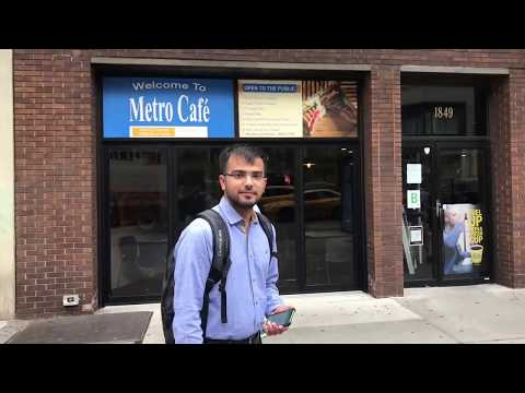 Shan First Day of School, NYIT, Manhattan, New York