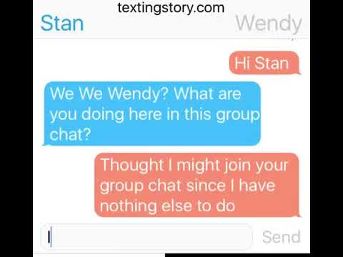Texting Stories #2: Stan Marsh, Craig Tucker, Butters Stotch and Wendy Testaburger (Group Chat)