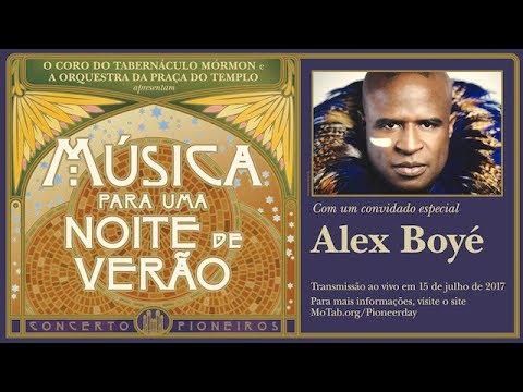 Concerto do Dia dos Pioneiros de 2017 com Alex Boye — Música para uma noite de verão