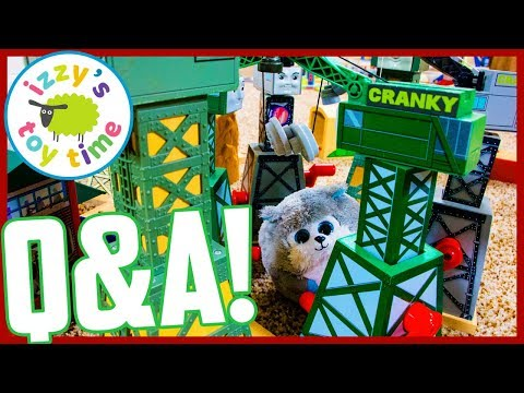 300,000 SUBS! Q&A WITH IZZY'S TOY TIME! Thomas and Friends Fun Toy Trains for Kids!