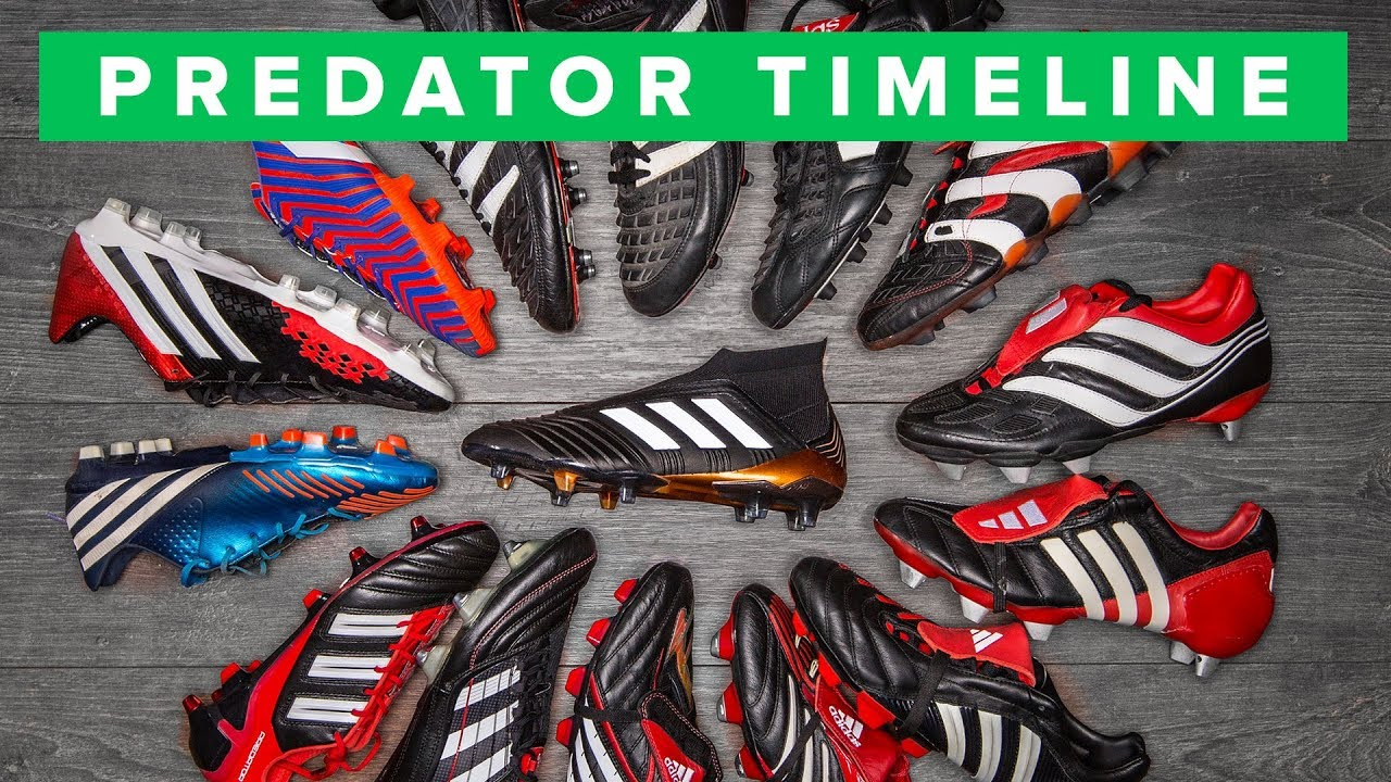 imitar Armada Fantástico  adidas Predator the history of all Predator football boots - YouTube