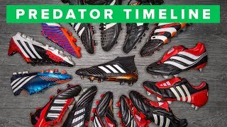 adidas Predator   the history of all Predator football boots