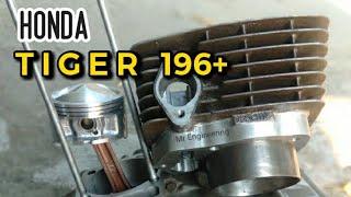 Spesifikasi Honda Tiger 196+ cm³ 🤔