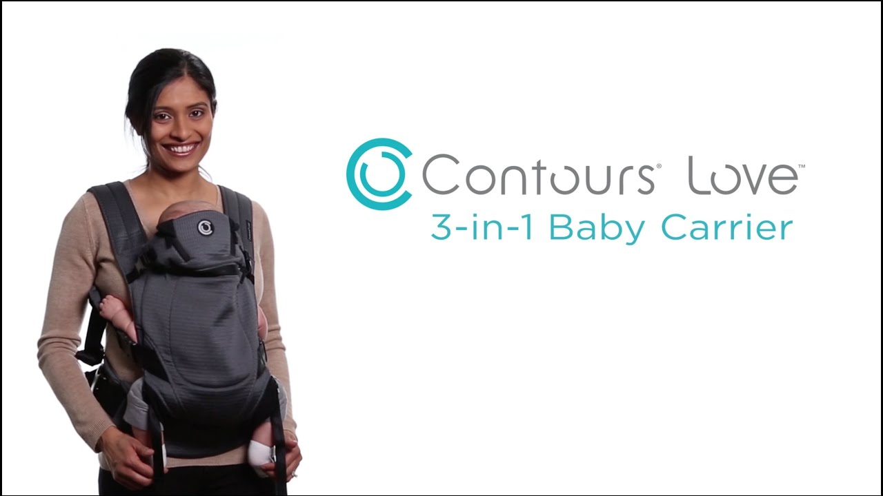 596b2c95e56 Introducing the Contours Love 3-in-1 Baby Carrier - YouTube