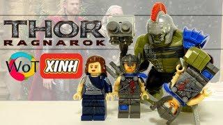 Минифигурки Лего по фильму Тор 3: Рагнарёк