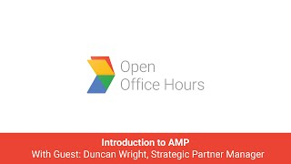 News Lab Japanese AMP Office Hour: Introduction to AMP with Duncan Wright, Strategic Partner Manager