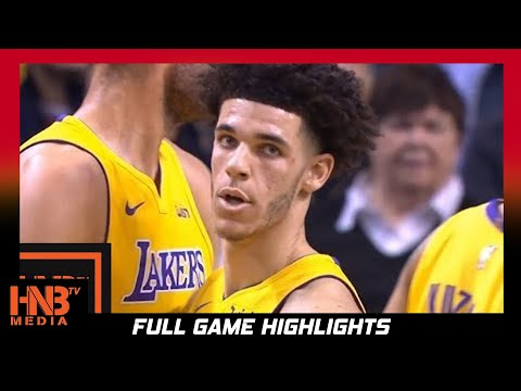 Los Angeles Lakers vs Boston Celtics 1st Half Highlights / Week 4 / 2017 NBA Season