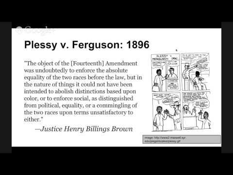 The Supreme Court Precedent Cases: Plessy v. Ferguson 1896