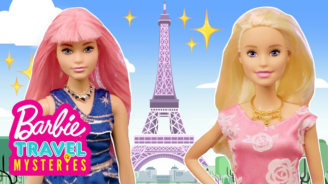 Barbie and the Missing Mona Lisa! | Barbie Travel ...