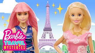 Barbie and the Missing Mona Lisa! | Barbie Travel Mysteries: Paris | Barbie