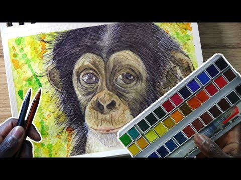 the-power-of-watercolor-and-ballpoint-pen- -demoose-art