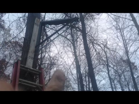 Making A Deer Corn Feeder Pulley System