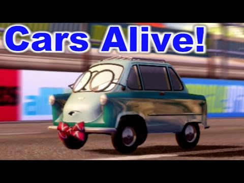 cars 2 the video game young professor z mountain run youtube. Black Bedroom Furniture Sets. Home Design Ideas