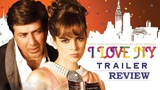 I Love NY - Official Trailer Review | Sunny Deol, Kangana Ranaut | New Bollywood Movies News 2015