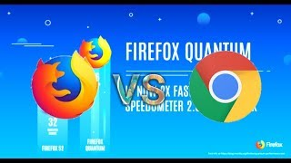 Android : Firefox Quantum (57 stable) VS Chrome