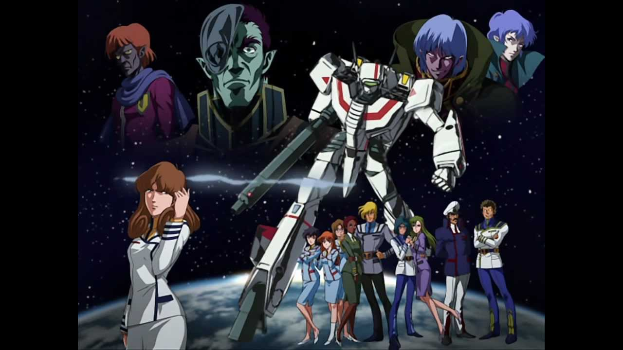 Macross new opening remade hd 1080p youtube - Robotech 1080p ...