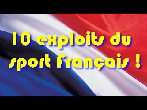 ~10 exploits du sport Français~ [MONTAGE EMOTION]