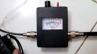 Testing homebrew SWR Meter.3gp