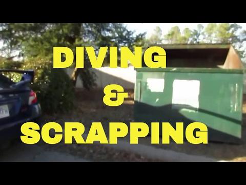 SCRAPPING FIRE EXTINGUISHERS, Copper & Brass for Scrap Metal Aluminum Tin Dumpster Diving Score Haul