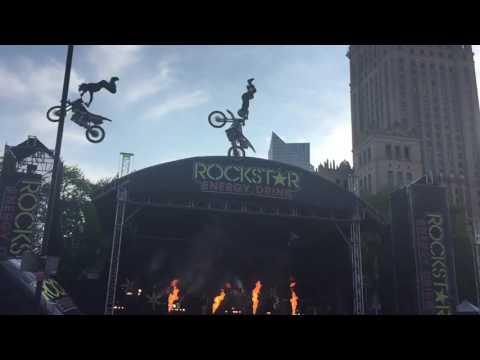 Flying Rockstar Energy Tour, Warsaw