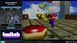 Super Mario 64 Randomizer by 360Chrism in 2:46:10 - GDQx 2019