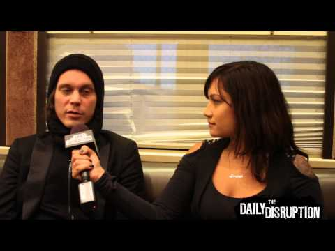 Ville Valo of HIM Answers  Questions on The Daily Disruption