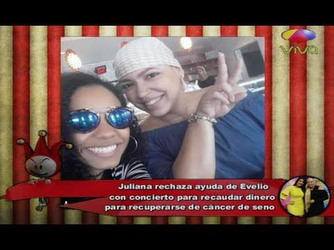 Juliana rechaza ayuda de Evelio Herrera para recaudar dinero para su recuperación de cáncer