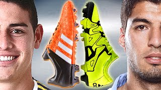 James Rodriguez VS Suarez - Boot Battle: adidas ACE vs X - Test & Review