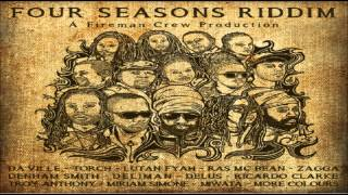 Four Seasons Riddim Mix  {SEPT 2014} (Fireman Crew Productions) mix by djeasy