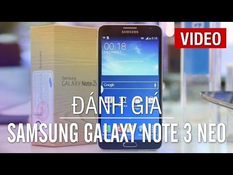 Đánh giá nhanh Samsung Galaxy Note 3 Neo N750, phiên bản rút gọn của Galaxy Note 3