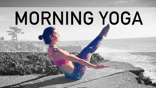 "Video AK73 Energizing Morning Intermediate Yoga ""Coffee Cup"" Core FULL BODY download MP3, 3GP, MP4, WEBM, AVI, FLV Maret 2018"