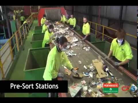 Australia- Material Recovery Facility