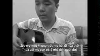 Lien khuc TANGO (Co be ngay xua - Kiep ngheo) - [Guitar solo] [K'K]