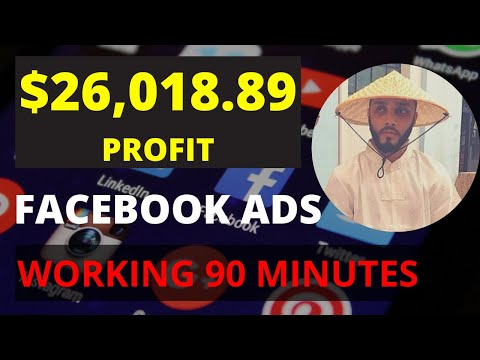 How I made $26,018.89 Profit with Facebook Ads in 90 Minutes - Affiliate Marketing
