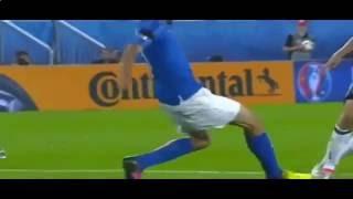 Видео-обзор матча Германия - Италия 1:1, 2 июля 2016(Сборная Германии по пенальти выиграла у команды Италии в матче 1/4 финала Евро-2016., 2016-07-03T05:20:55.000Z)